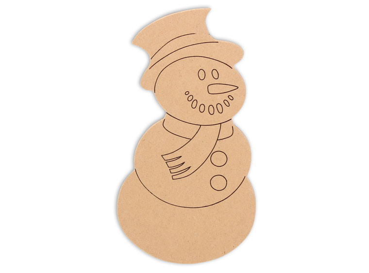 Snowman Mosaic